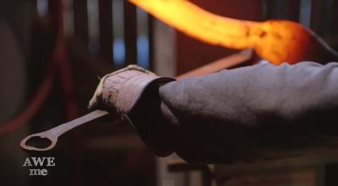 キルラキル「片太刀バサミ」を鍛冶屋が作る-03