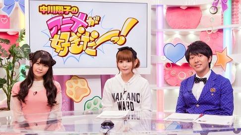 10月より放送の中川翔子さんの新番組初回ゲストに竹達彩奈さん