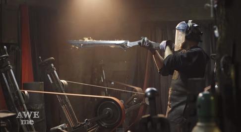 キルラキル「片太刀バサミ」を鍛冶屋が作る-07