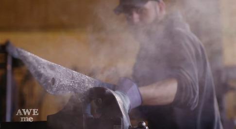 キルラキル「片太刀バサミ」を鍛冶屋が作る-06