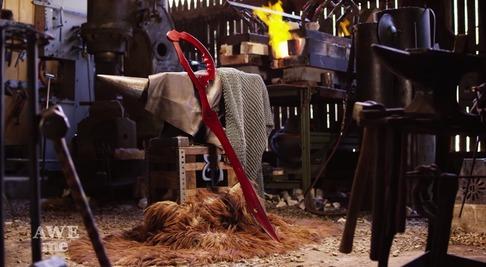 キルラキル「片太刀バサミ」を鍛冶屋が作る-10