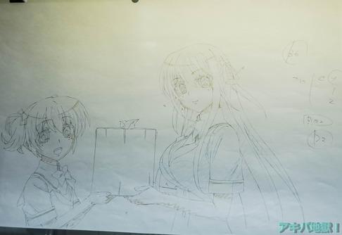 UDXアニメセンターグリザイアの果実展-95