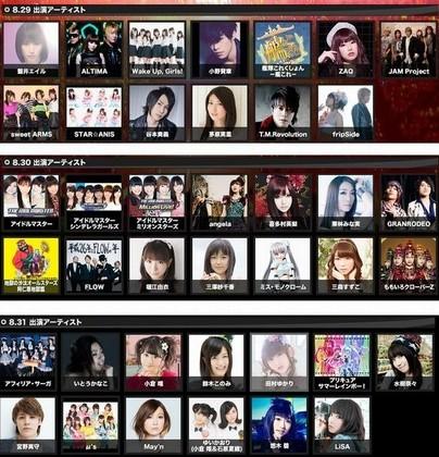 「アニサマ2014」6週連続放送