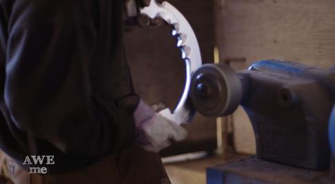 キルラキル「片太刀バサミ」を鍛冶屋が作る-08
