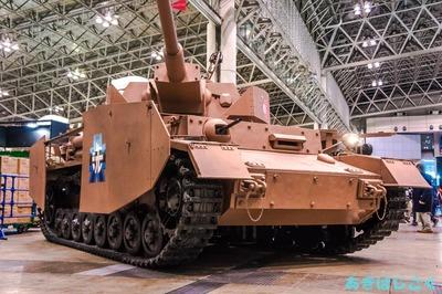 ワンフェスガルパンⅣ号戦車_07