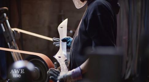 キルラキル「片太刀バサミ」を鍛冶屋が作る-04