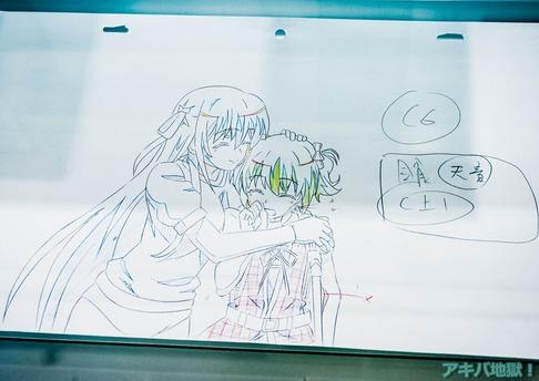 UDXアニメセンターグリザイアの果実展-54