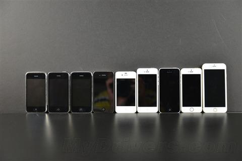 歴代iPhoneとの比較