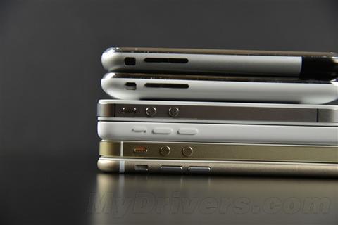 歴代iPhoneとの比較 (4)