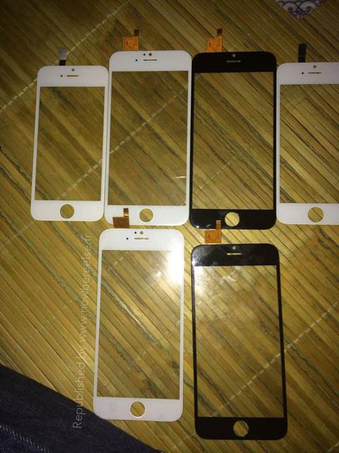 iPhone6のタッチスクリーン2
