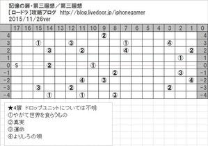 記憶の扉・第三廻想マップ