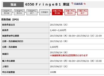 IPO Fringe81