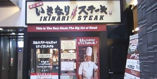 3053 ペッパーフード いきなりステーキ