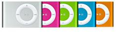 Color iPod shuffle