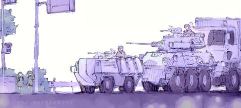 標準政府機構 管理群 実効部隊車列(関東南部)