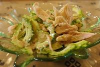 ゴーヤと鶏肉のサラダ (1024x692)