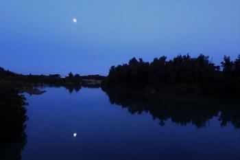 満月のたいこばし