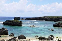 中の島ビーチ離岸流