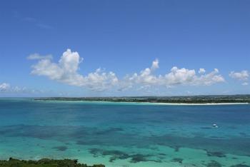 展望台からの前浜