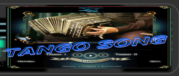 『Tango Song』頁の象徴的オブジェクト