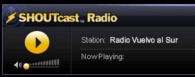 Radio VUELVO AL SURon shoutcast
