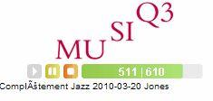 Completement Jazz 2010-03-20 Jones演奏中