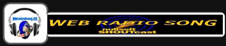 WEB RADIO SONGのHome看板
