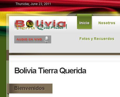 Bolivia Tierra Querida