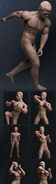 ファイセン・リミテッド 1/6スケール 超柔軟性シームレス男性素体(PL2015-M30)