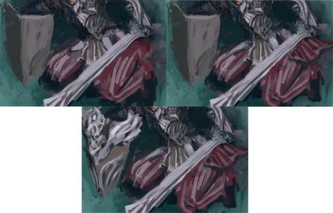 銀髪剣士9