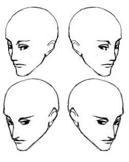 ふかん斜め顔6