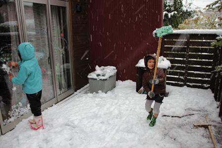 小春日和vol.441 雪の遊び方を知らないのは親の方かも