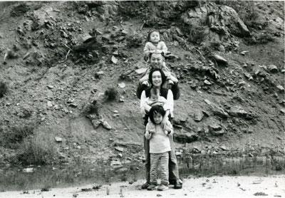 大谷家の集合写真