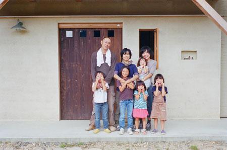 年賀状用家族写真at入江家