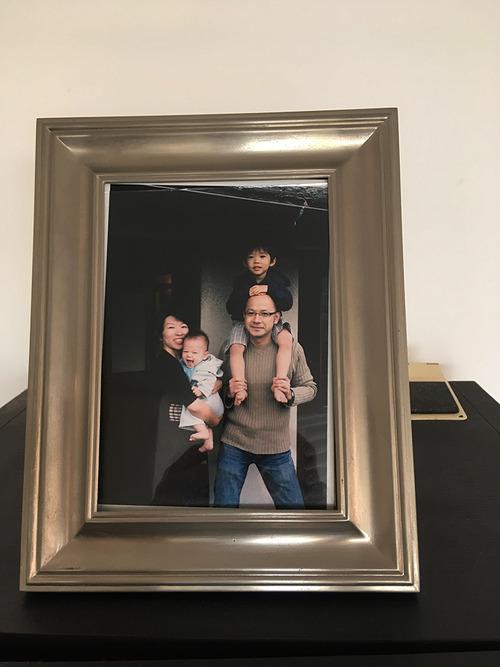 10年分の家族写真