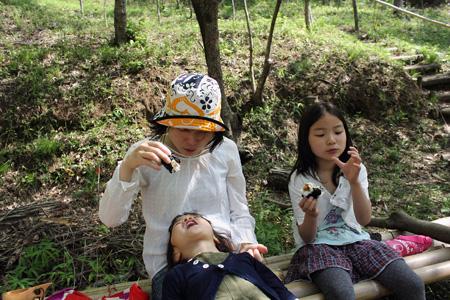 小春日和vol.411 おにぎりの食べさせ方