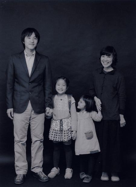 家族写真を撮られること