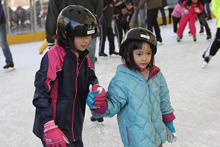 小春日和vol.520 スケート場で見た姉妹の助け合い