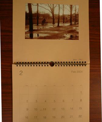 カレンダーの写真のこと