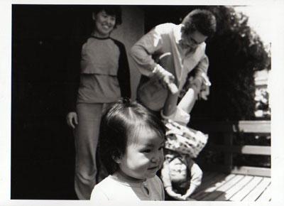 「おうち、」家族写真