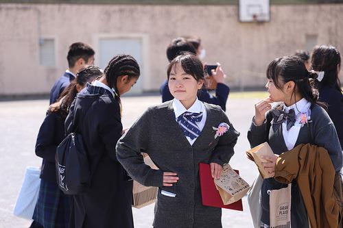 小春日和vol.679 ふたりの卒業式