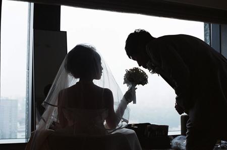 結婚式控え室