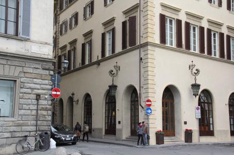 フィレンツェの標識