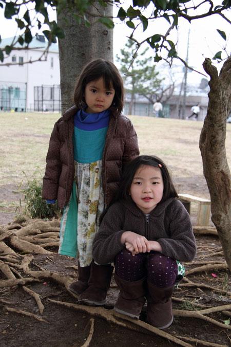 家族写真in 玉川学園 3月31日『桜の下で 歌って笑って NUUライブ』