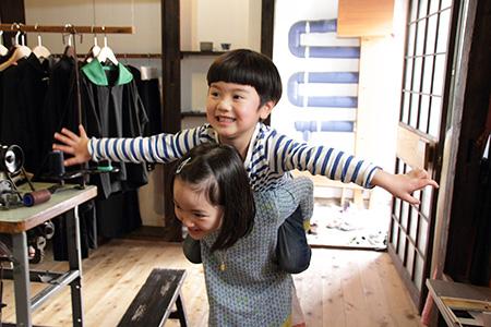 家族写真in Rojiroom 大阪