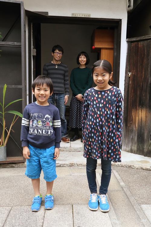 3月25日 大阪家族写真 in Rojiroom