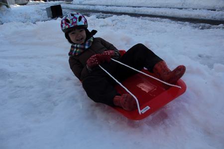 小春日和vol.485 大雪の日の子ども