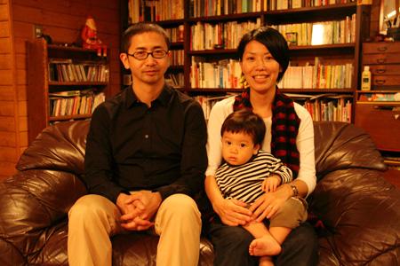 家族写真in入江家 2011 in December