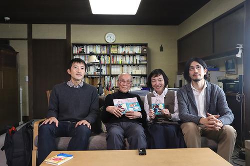 「ひまと幸せの暮らし学」 フクダカヨ✖︎入江英樹✖︎谷川俊太郎トークイベント