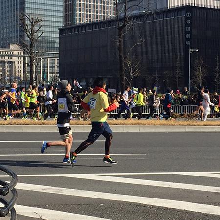 東京マラソン2016満喫
